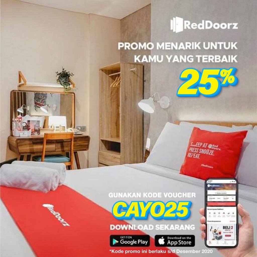 Promo Diskon 25 Reddoorz Backpacker Indonesia